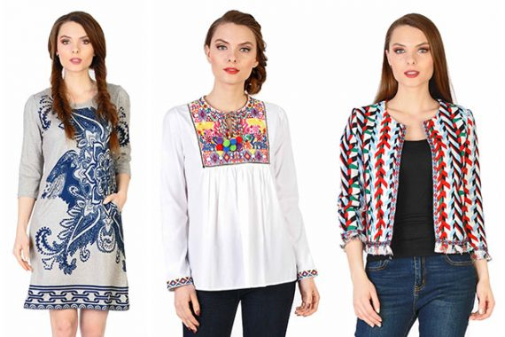 Culorile intalnite pe rochiile traditionale se gasesc si pe ii